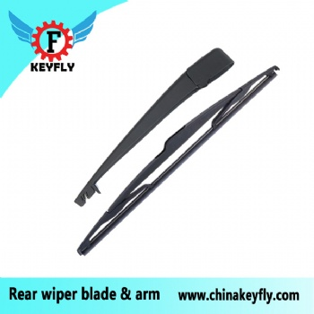 For RENAULT MEGANE III COUPE 2010 Rear wiper blade wiper arm Keyfly Windshield Wiper auto wiper back wiper